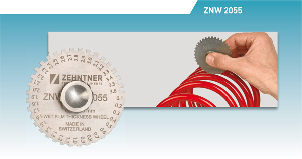zehntner ZNW2055 Wet Film Thickness Wheel 1